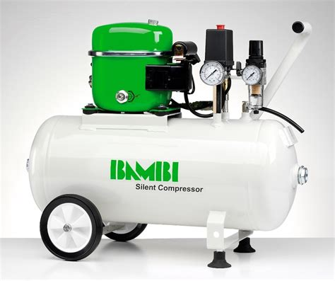 Upholstery Nail Buttons Bambi 24 Ltr Standard Silent Air Compressor With Wheels