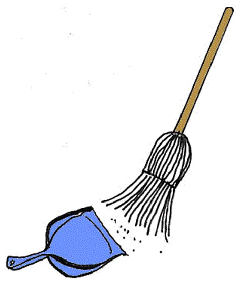 Broom And Dustpan Clipart workingforthelord