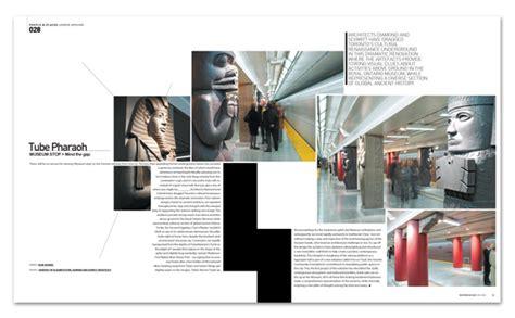 free architecture magazine 国外杂志版面排版设计 3 画册设计 设计欣赏 素彩网