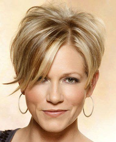 short hair styles that lift face haircuts for round face shape hairstyles pinterest