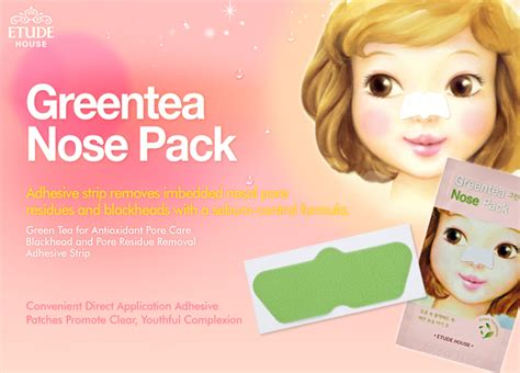 Promo Etude House Green Tea Nose Patch Ori etude house greentea nose pack 5 sheets