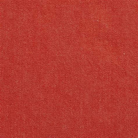 Machine Washable Upholstery Fabric by Coral Plain Denim Machine Washable Upholstery Fabric