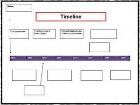 Timeline Template Printable by 7 Timeline Templates For Students Free Word Pdf Format