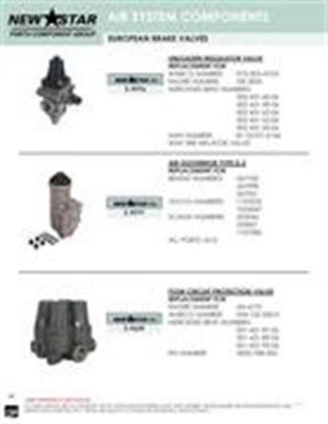 Dr P M10 Basic Type air valve for truck in air systems hydraulic catalog by