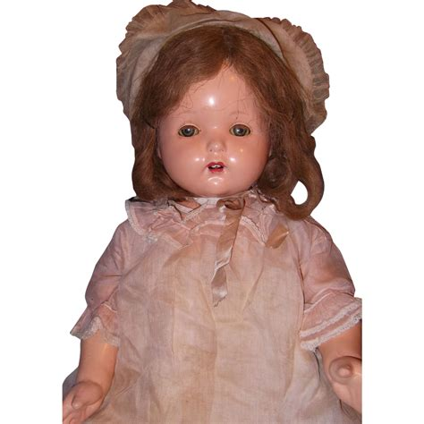 composition phonograph doll 30 quot effanbee mae talking phonograph composition doll