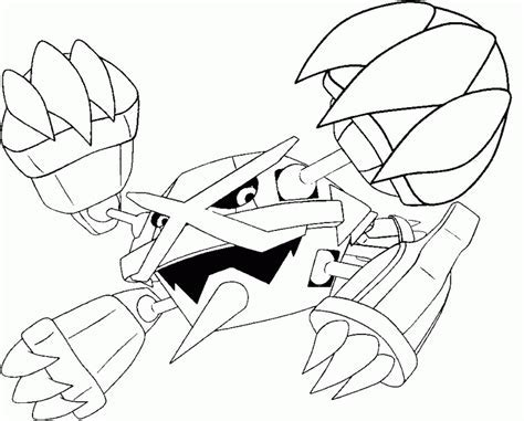 coloring pages mega evolved pokemon drawing coloring home