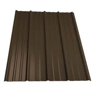home depot metal siding metal sales 12 ft classic rib steel roof panel in