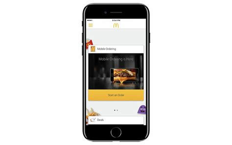 test mobile mcdonald s tests mobile order and pay ahead of national