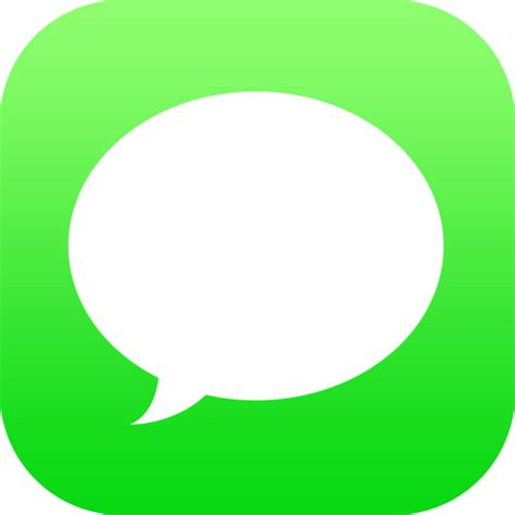 message for messages icon ios7 redesign iconset wineass