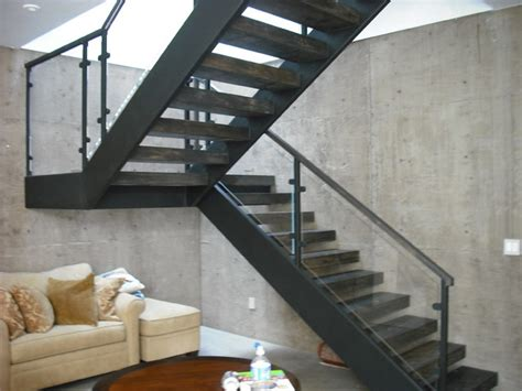 Basement In San Diego by 3 Story Steel Glass Wood Contemporary Staircase San