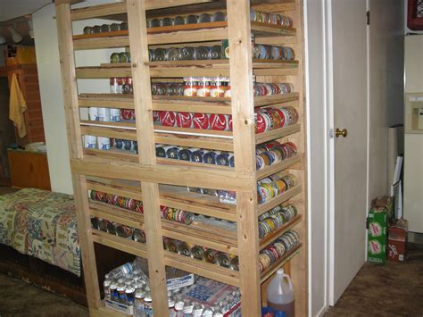 Lds Food Pantry by Slanted Shelf Pattern For Canned Food Rotation Lds Intelligent 2017 With Shelving Units Images