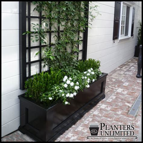 Commercial Outdoor Planters by Modern Traditional Planters Commercial Composite Planters