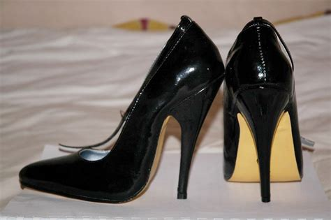 high heeled footwear