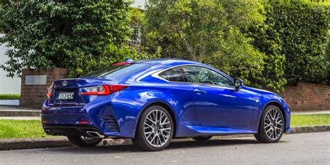 car lexus 2016 2016 lexus rc200t f sport review caradvice