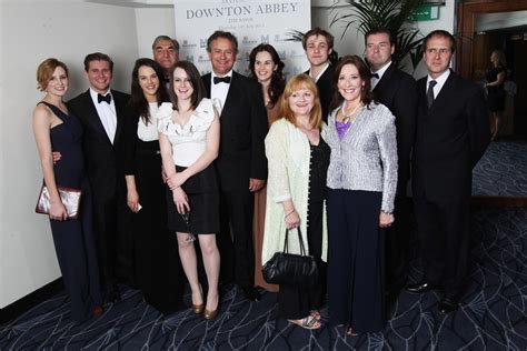 at the an evening with downton abbey event at the television academy jessica brown findlay and michelle dockery photos photos