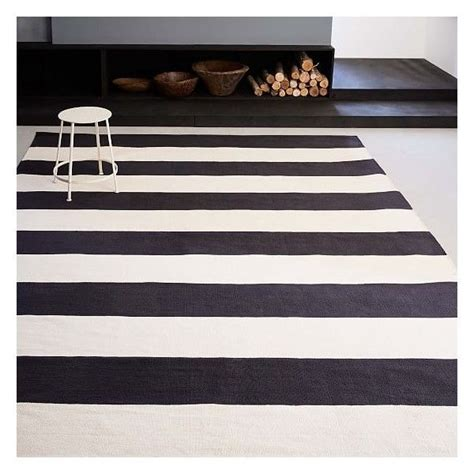 black and white striped area rugs best 25 striped rug ideas on stripe rug