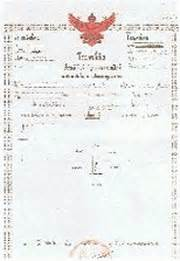 ufficio legalizzazioni ibsthai traduzioni certificate thailandese italiano