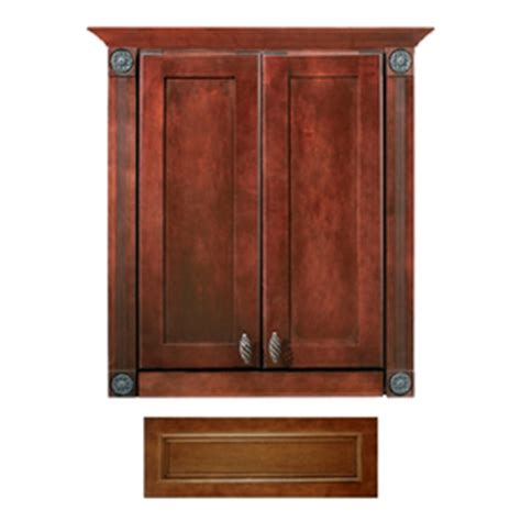 Lowes The Toilet Cabinet by Lowes Architectural Bath Cognac Vanilla Linen The