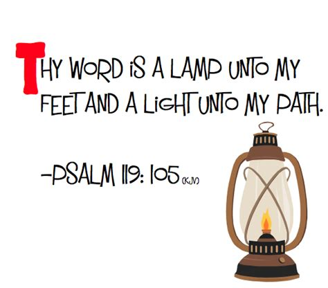 Psalm 119 Thy Word Is A L by Memory Verse Monday Rcfkids