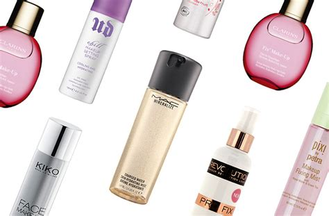 the best spray the best makeup fixing sprays and setting sprays