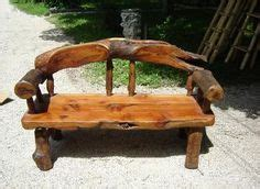 red cedar log bench pinteres rustic natural cedar curved log bench pair home pinterest log benches logs