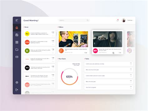 Dashboard Web App Made With Adobe Xd Uxfree Com Adobe Xd App Templates