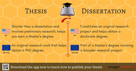 how to get a in a dissertation thesis vs dissertation enago academy