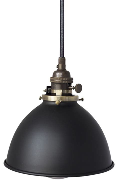 Hinkley Lighting Factory 7 Amp 1 16 Quot Black Metal Shade Pendant Light Oil