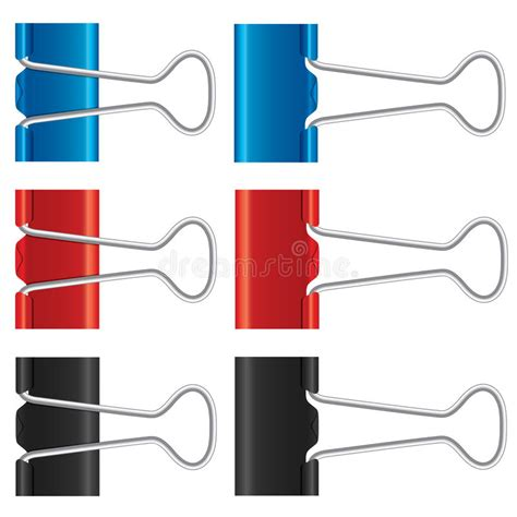 Binder Clip Set binder set paper collection stock