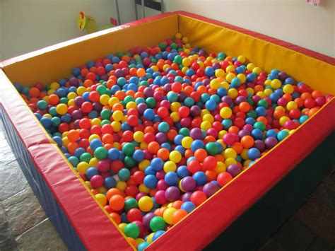 we bought a ball pit olin college