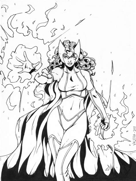 coloring pages scarlet witch sexy scarlet witch marvel coloring pages coloring pages