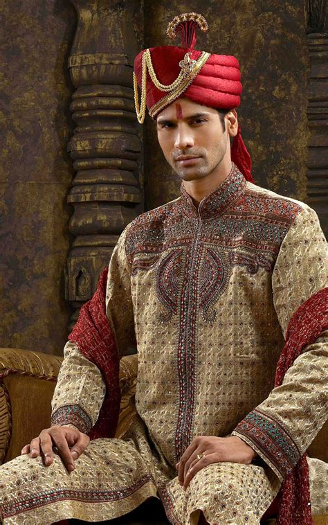 Wedding Ala India by Shopping Masala Indian Sherwani For