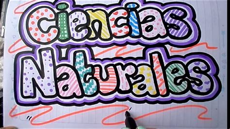 ciencias sociales como marcar un cuaderno de ciencias naturales youtube