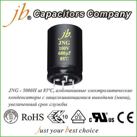 jb capacitor company jb capacitors company www jbcapacitors jb jng 5000h at 85 176 c алюминиевые