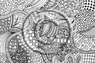zentangle coloring pages zentangle free colouring pages