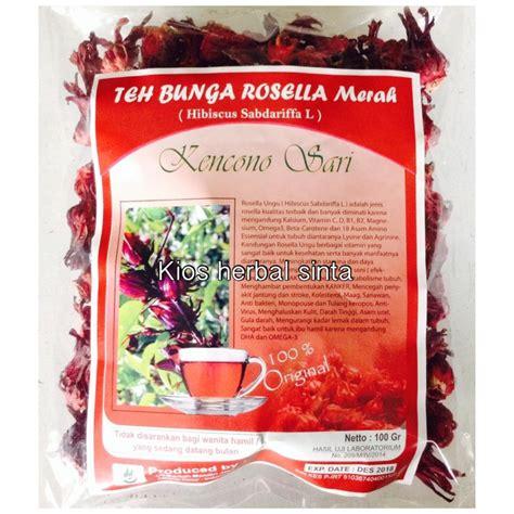 Teh Herbal Rosella Merah teh bunga rosella merah alzafa store