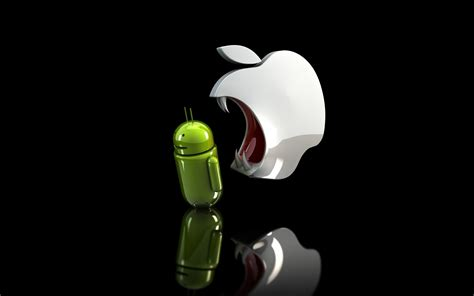 cool for android cool android vs apple desktop hd wallpaper dreamlovewallpapers