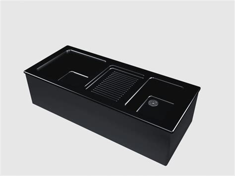 black ceramic kitchen sink 3d model 3dsmax files free