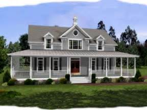 Wrap Around Porch Plans by Single Story Farmhouse Plans With Wrap Around Porch Home