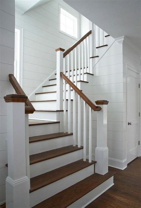 Back Stairs Design 25 Best Ideas About Farmhouse Stairs On Pinterest Spindles For Stairs Attic And Bohemian
