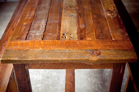 how to finish a wood table reclaimed wood farm table from start to finish