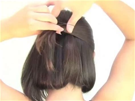 tutorial untuk menghias rambut pendek tutorial rambut wanita gaya simple untuk rambut pendek