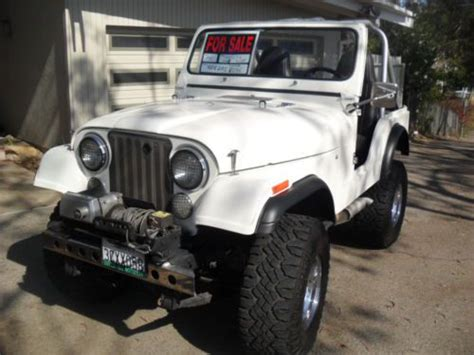 1978 Jeep Cj5 Parts Buy New 1978 Jeep Cj5 Base Sport Utility 2 Door 5 0l