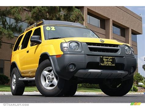 2002 solar yellow nissan xterra xe v6 69461552 gtcarlot car color galleries