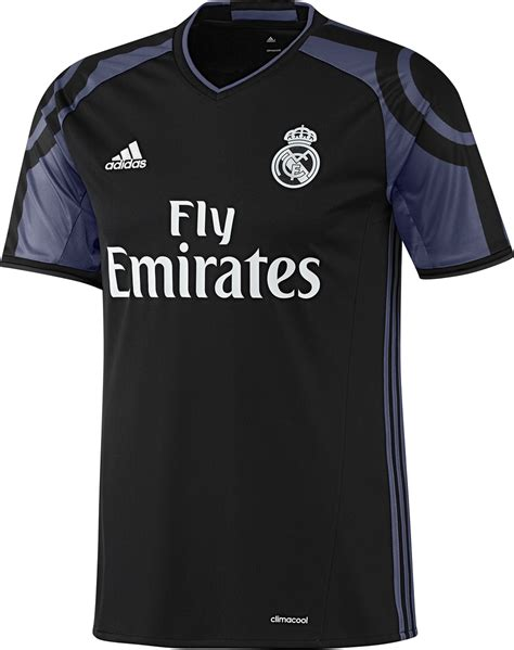 Real Shirt adidas real madrid third 16 17 soccer jersey black