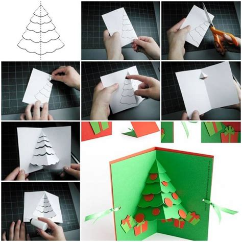 how to make a tree pop up card how to make tree pop up card step by step diy