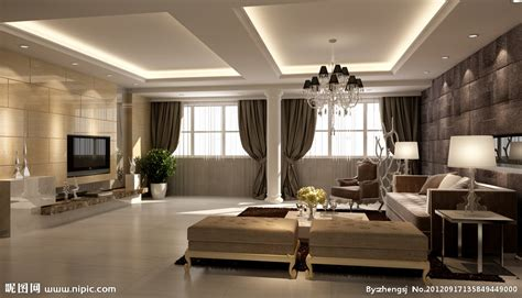 drawing room design pictures 2012 top 2 best 欧式大客厅设计图 室内设计 环境设计 设计图库 昵图网nipic com