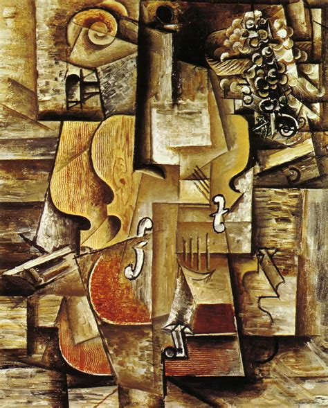 pablo picasso paintings violin quotes about cubism picasso quotesgram