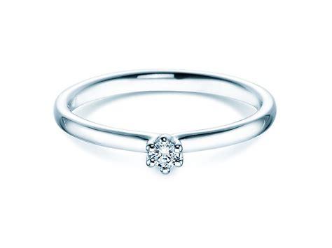 Verlobungsring Mit Diamant by Verlobungsring Classic In 14 Karat Wei 223 Gold 585 Mit