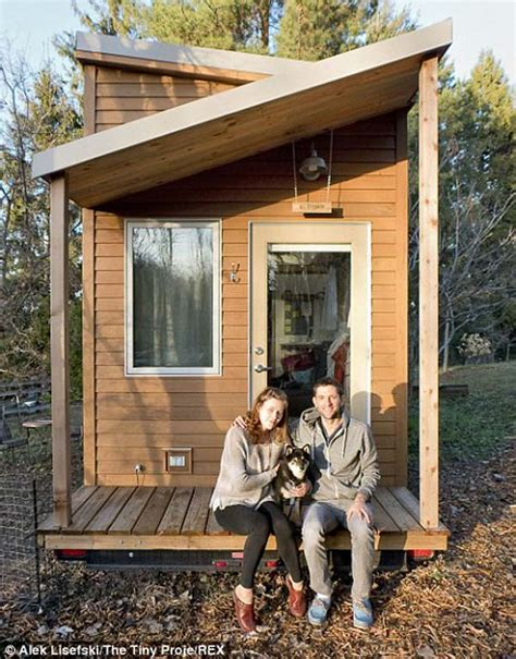 alek s tiny house project a web designer built a tiny house with zero debt the